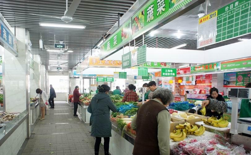 300平米超市设计图